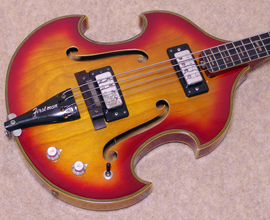 60's FIRSTMAN LIVERPOOL BASS
